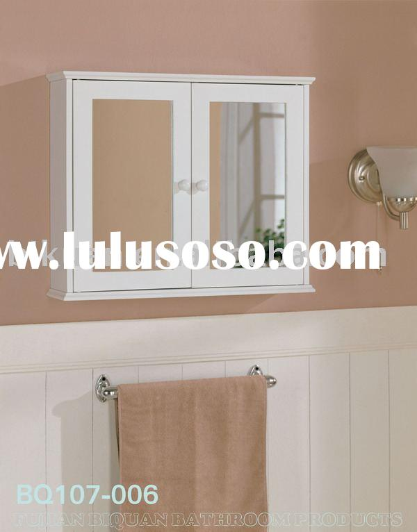 Mirrored door Bathroom Cabinet wall cabinet