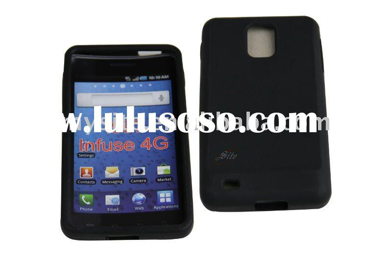 Mobile Phone Silicon Case for Samsung i977 Infuse 4G