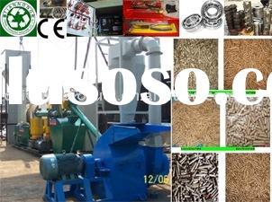 Mobile Small Wood Pellet Plant, Micro Wood Pellet Line, Mini Wood Pelletizing Plant