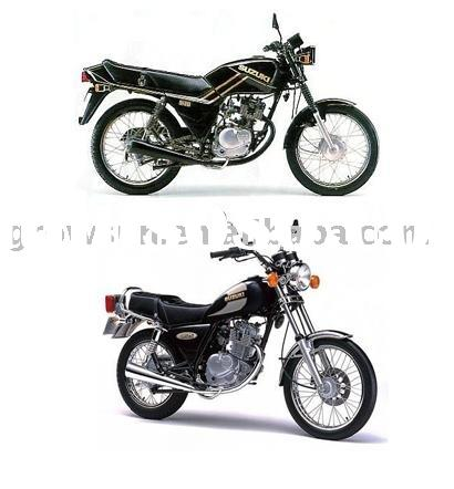 Motorcycle parts of Suzuki GN125 and GS125 motorcycle