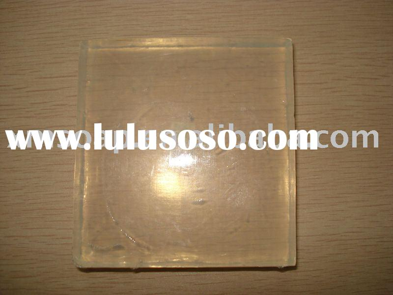 Natural transparent soap base