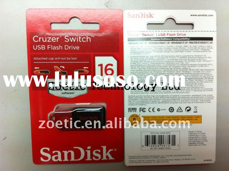 New!! SDK16GB Cruzer Switch USB Flash Drive ( CZ52 ) ,brand USB,16GB usb flash drive #SDCZ52-016G-B3