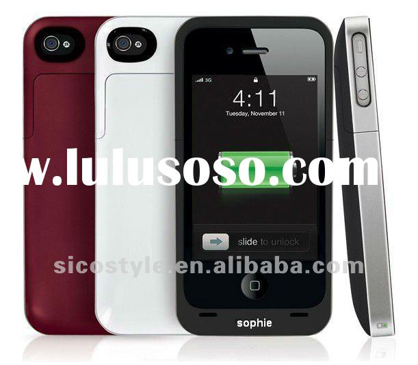 New Version 1500mAh Battery Extender for i-Phone 4/4S High Quality Low Price Juice Pack Air