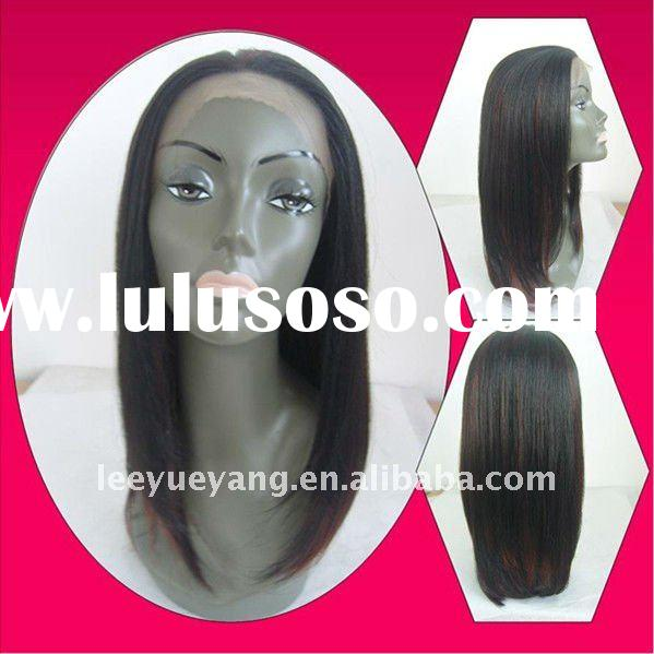 New arrival kinky straight full lace wig