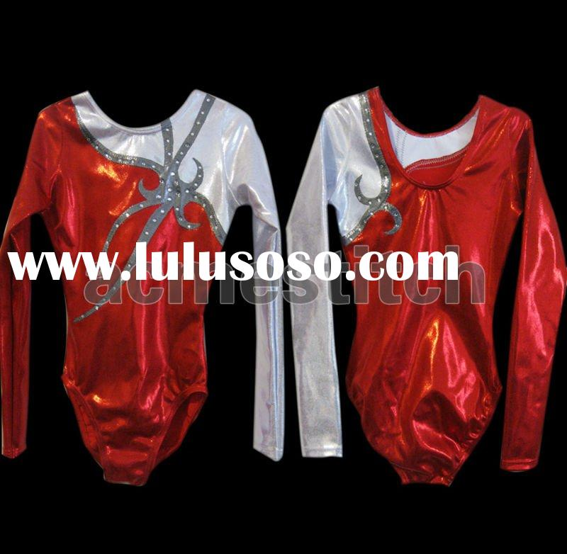 New style long sleeves Gymnastic dance wear