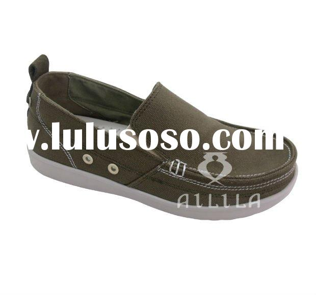 New style men canvas shoes for 2011