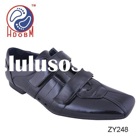Newest popular fashion square top mens casual shoes