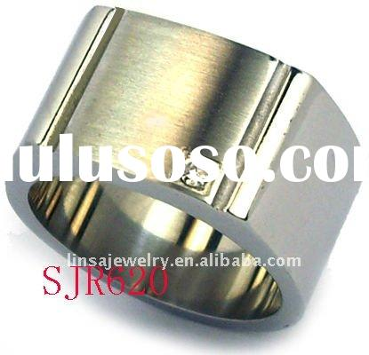 Newest style hot sell stainless steel rings for men