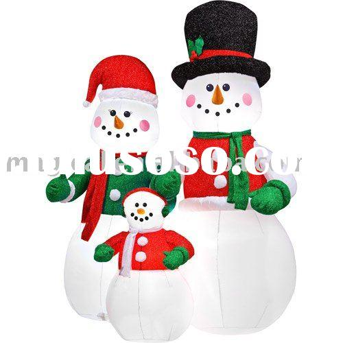 Inflatable snowman inflatable snowman manufacturers in for Abominable snowman outdoor christmas decoration