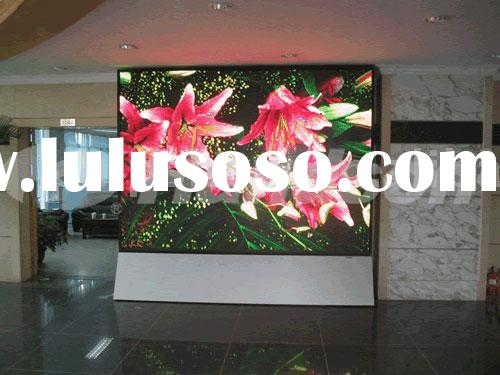 P7.62 SMD 3 in 1 indoor full color LED Display(LED sports display|LED dot matrix display)