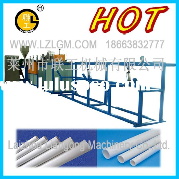 PVC threading pipe (cold bending pipe) production line and PVC pipe machine