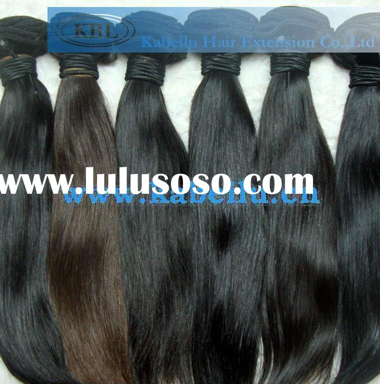 Peruvian human natural hair weave
