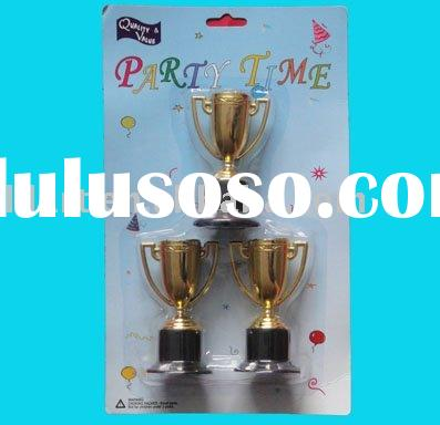 Plastic Goldtone Trophies/Trophies/children's toys/plastic products