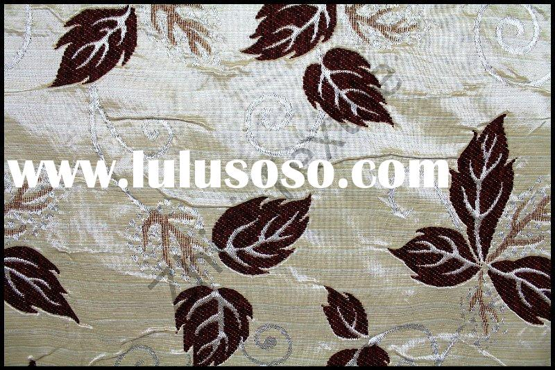 Polyester/viscose jacquard chenille cushion cover