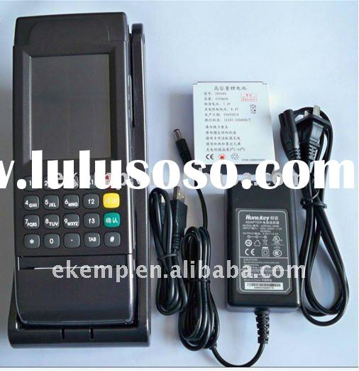 Portable Data Collection supports Fingerprint Scanner (EP2000)