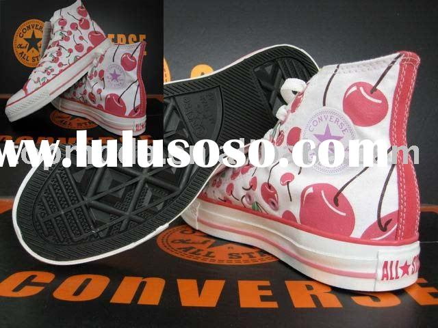 Print Cherry on canvas shoes, sneakers, stock and fashion shoes, click here, buy you want, never reg