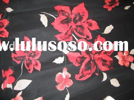 Printed Polyester Twisted Satin(Charmeuse)