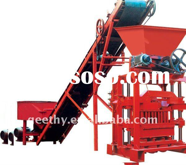 QTJ4-35B2 used concrete block making machine