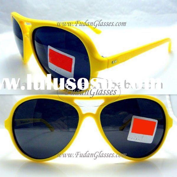 RB4125 Polarized 721A yellow 2011 new fashion brand name designer sunglasses