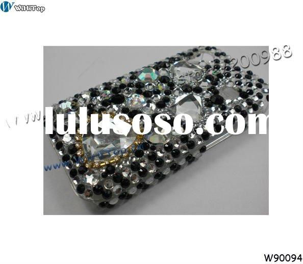 Rhinestone Bling Crystal Case Cover for Samsung Galaxy Ace S5830.Diamond Bling Case For Samsung Gala