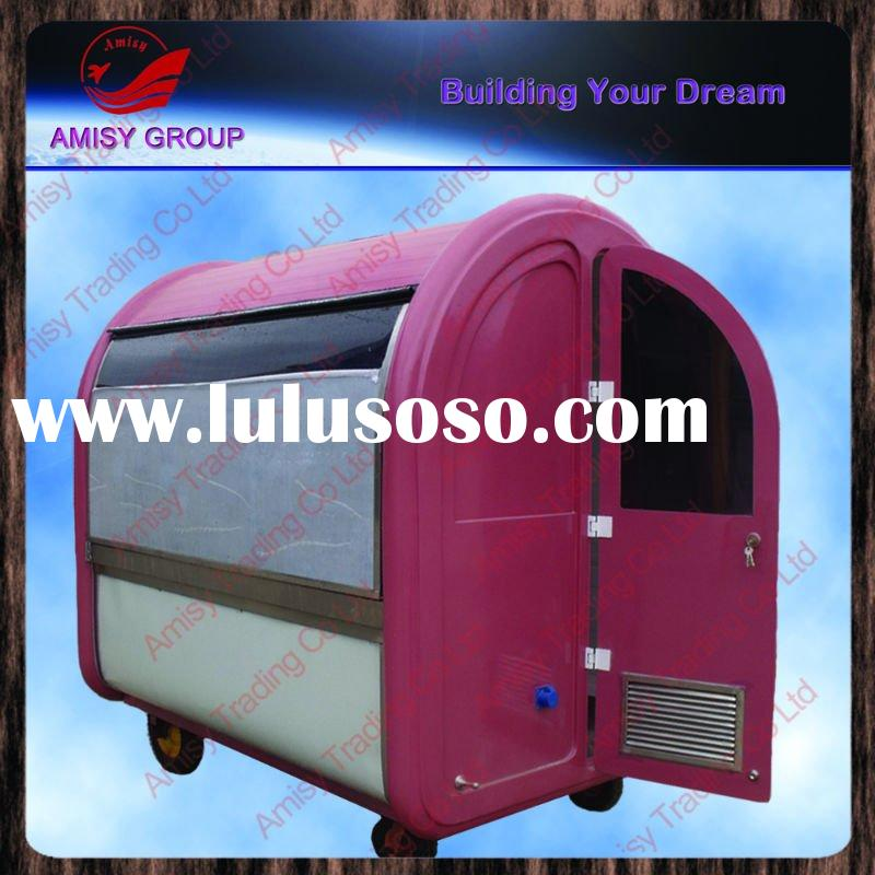 Room type mobile food carts for sale