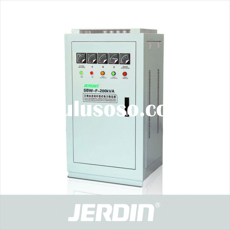 SBW-F series three phase Full Automatic compensated voltage stabilizer
