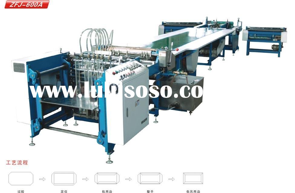 SFJ-600A semi-auto hardcover box making machine
