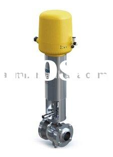 Sanitary Double-seat Mix-proof Ball Valve