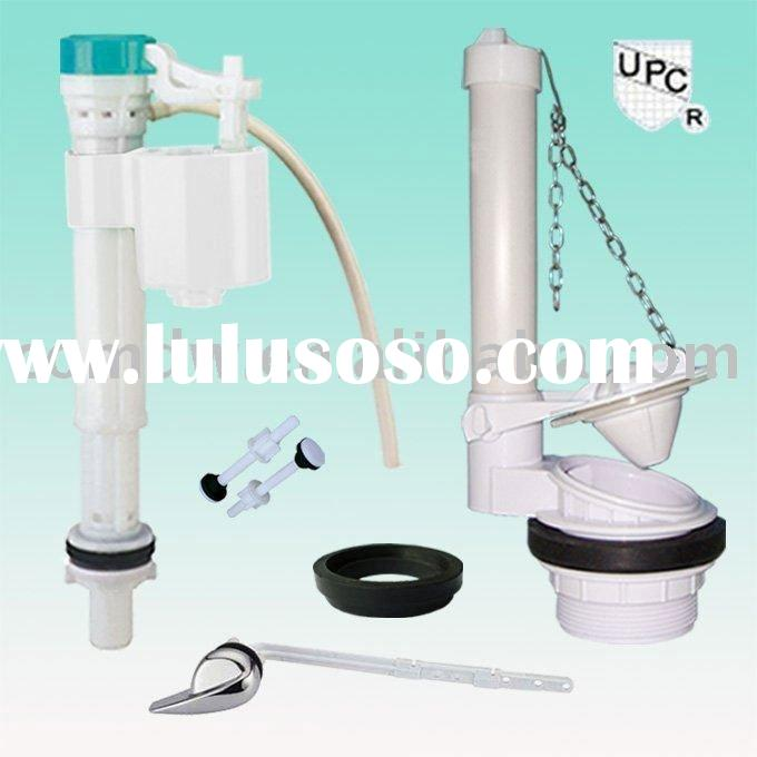 Sanitary Ware/Toilet Repair Kit-Adjustable Fill Valve and Flapper Flushing Valve