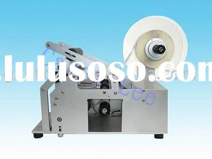 Self adhesive stick labeling machine for bottle/jar