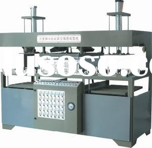 Semi-automatic plastic vacuum forming machine