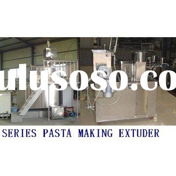 Series Macaroni Pasta Making Extruder
