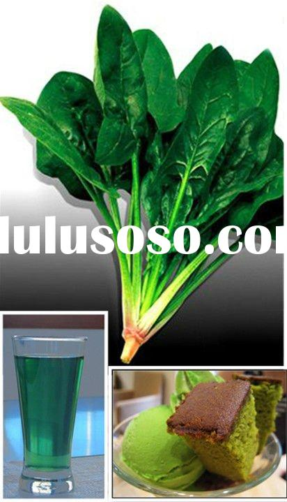 Sodium Copper Chlorophyllin Food Additives Natural Green Colorant