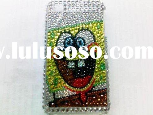 SpongeBob Bling Rhinestone Hard Case iphone 3G 3GS
