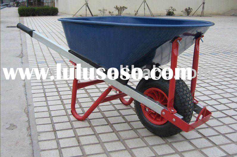 Square Metal Handle Metal Tray Wheel barrow (WB8613),power wheels,power wheelbarrow,