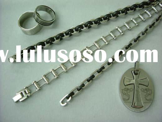 Stainless Steel Jewelry (Rings, Bracelets, Pendant)