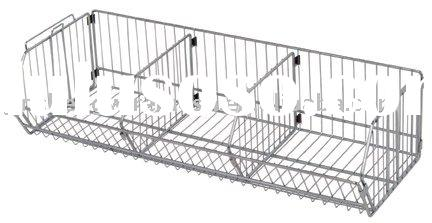 Stainless steel, Aluninum alloy, copper, chrome plated wire basket dividers