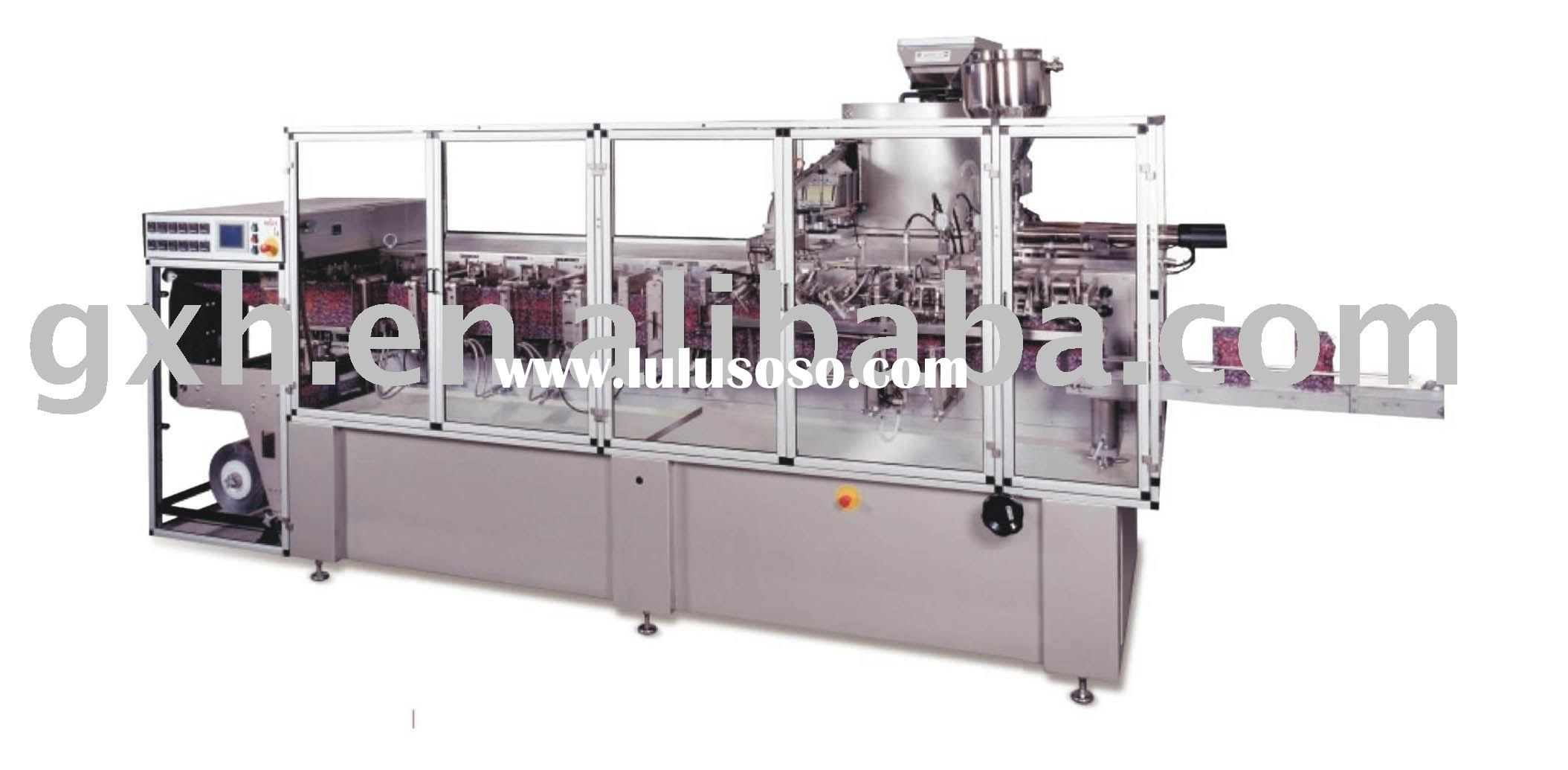 Stand up bag form fill seal machine