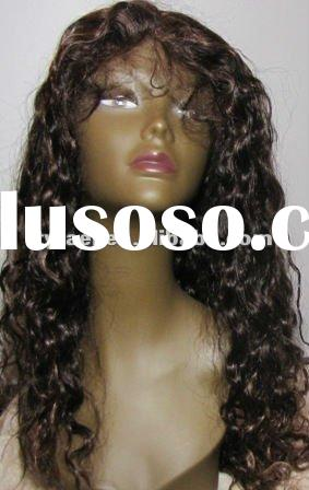 Stock!! Brazilian remy human hair thin skin glueless silk top human hair full lace wigs for black wo