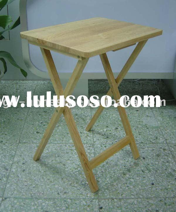 TV-1H Wooden Tray Table