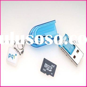 Tiny USB 2.0 MICRO SD SDHC TF CARD READER 2GB 8GB 16GB