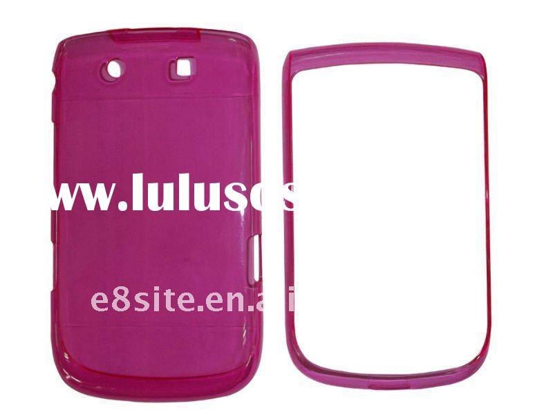 Transparent Cell Phone Crystal Case For BlackBerry 9800 Torch