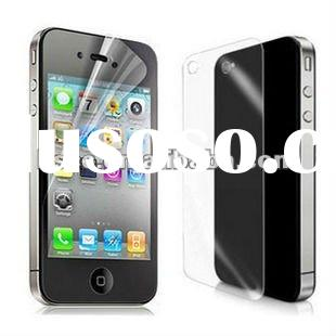 Transparent Front IPhone 4 4S mobile phone screen protector