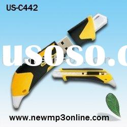 Utility knife,Snap-Off Knife usb flash drive, new product,OEM logo shape usb flash drive