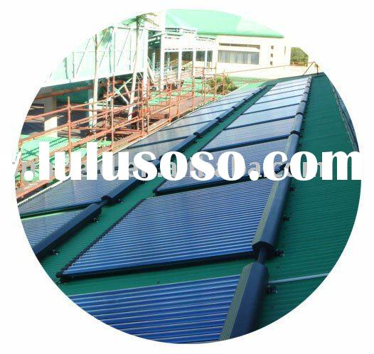Vacuum Tube Heat Pipe Solar Energy Project