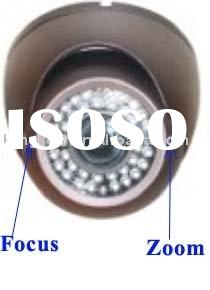 Video,Video camera,CCD Dome camera, 30M Adjustable Day Night IR Dome Camera SA Series: HK-SA312