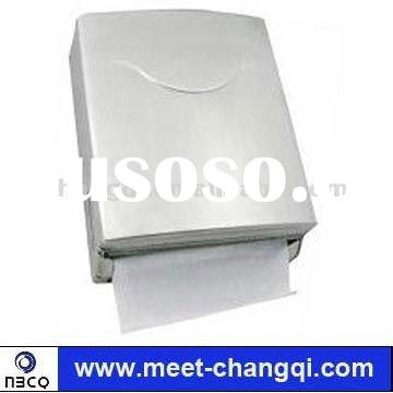 Wall-Mounted Toilet Metal Folded Hand Tissue Paper Dispenser SS-01