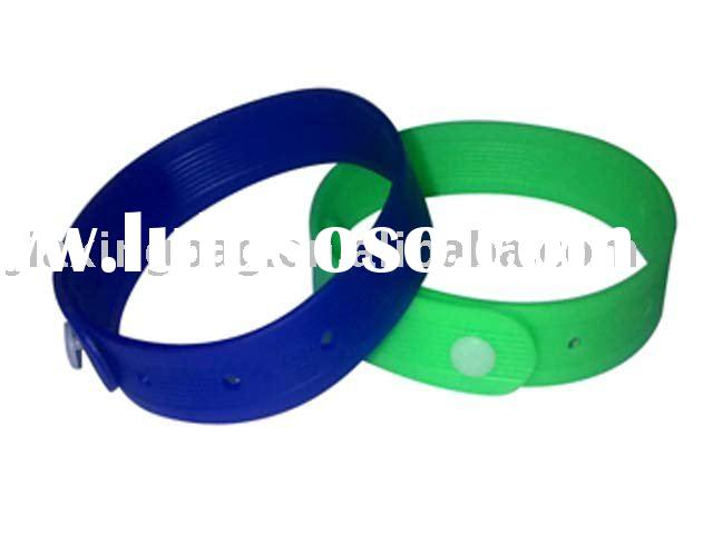 Waterproof Insect Repellent/Anti-mosquito Wristbands, with Lavender Essential Oil