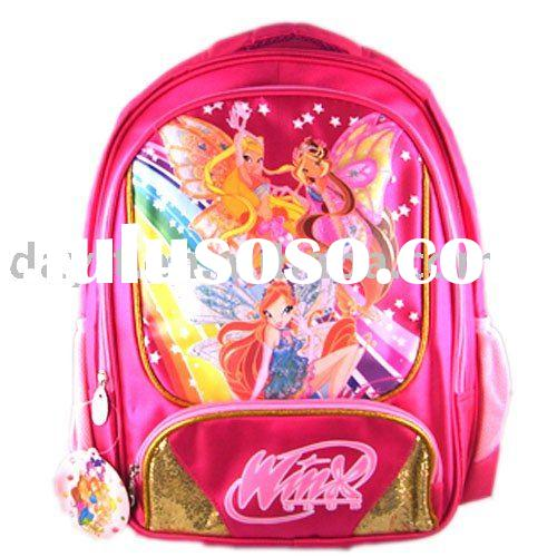 WinX club school bag/kids backpack for children on wholesale B0002