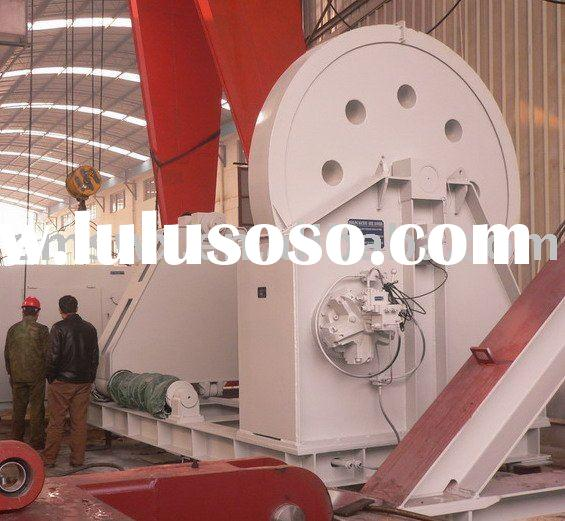 Wire rope spooling equipment/winch